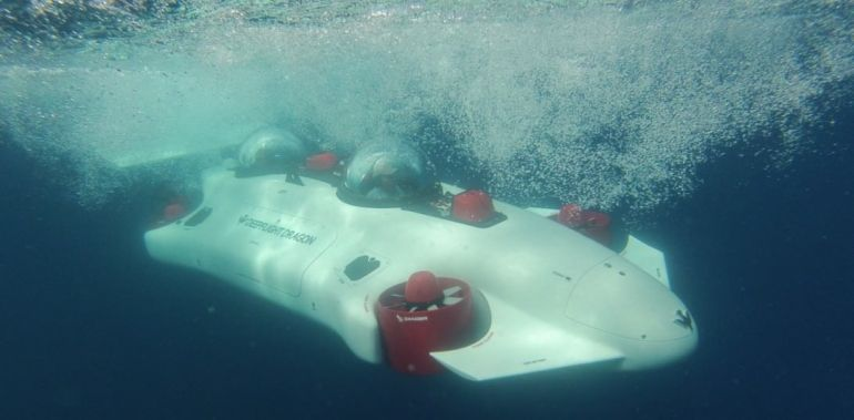 DeepFlight Build $1.5 Million Luxury Submarine Called Dragon-1