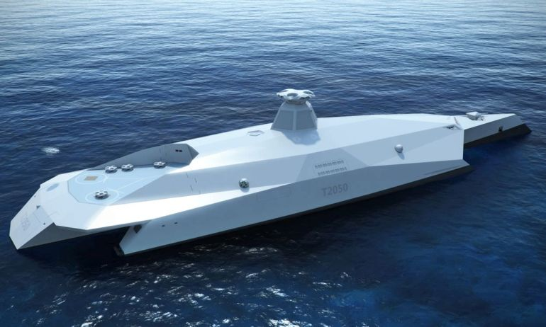 Dreadnought 2050 A Drone-Controlled Warship Of The Future-4