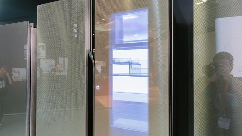 Haier's See-Through Fridge Will Likely Hit The Stores Next Year-3