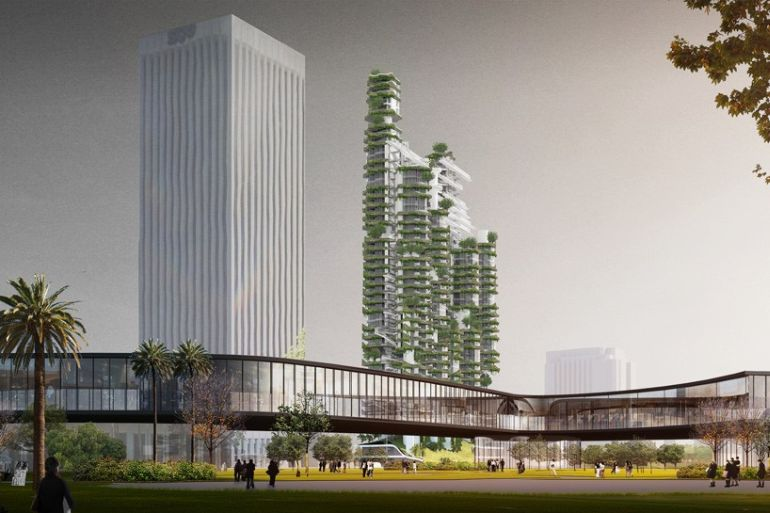 MAD Develops Plan For Stunning Vertical Village In LA-1
