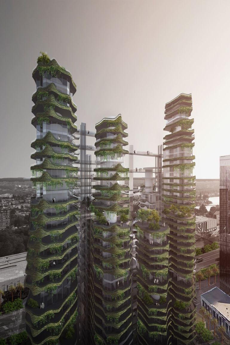 MAD Develops Plan For Stunning Vertical Village In LA-3