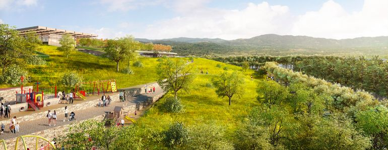 New Plan Proposes World's Largest Green Roof In Cupertino-1