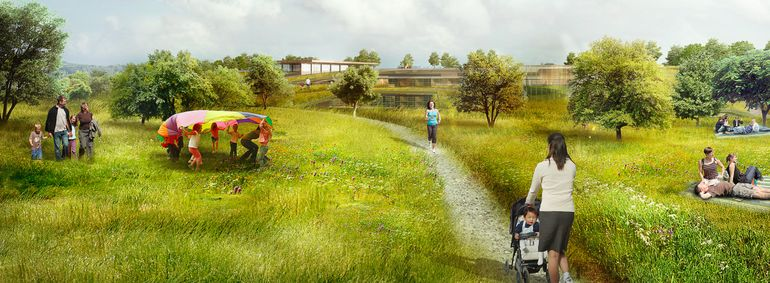 New Plan Proposes World's Largest Green Roof In Cupertino-3
