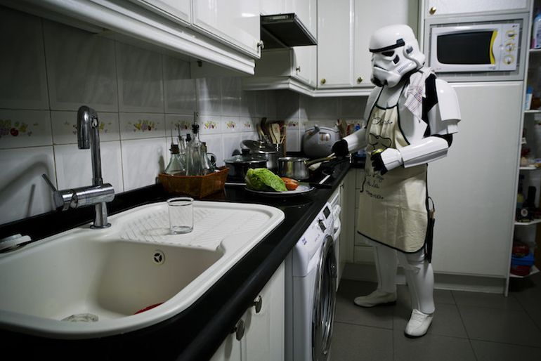 Photos Show The Startlingly Ordinary Lives Of Stormtroopers-5