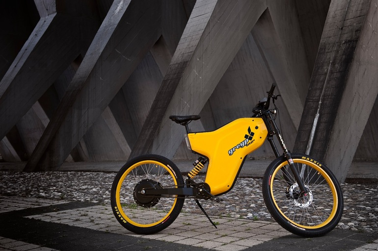 The Greyp G12S Electric Bike Is A Motorcycle Bicycle Hybrid-3
