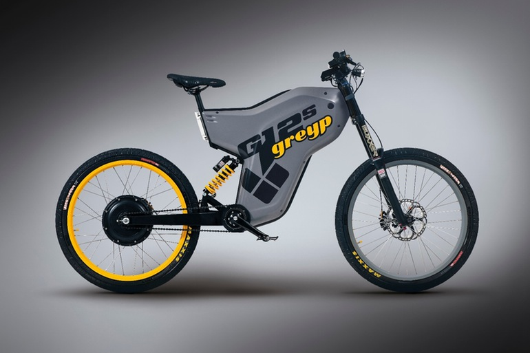 The Greyp G12S Electric Bike Is A Motorcycle Bicycle Hybrid-5