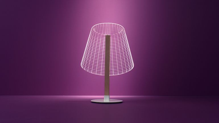 The Stunning 3D Optical Illusions Of The New BULBING Lamps-2