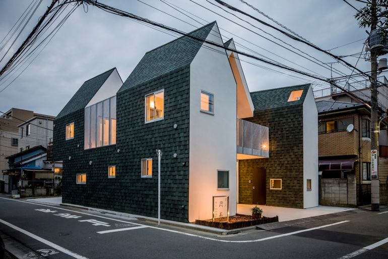 Tokyo-based Architects Design House That Can Be Shrunk In Size-0