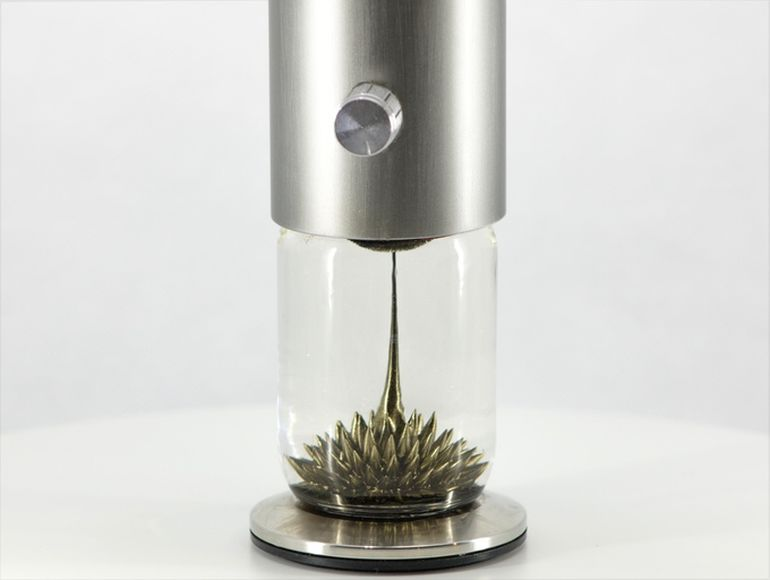 Watch The Ferrofluid Dance Around Inside This Interactive Sculpture-1