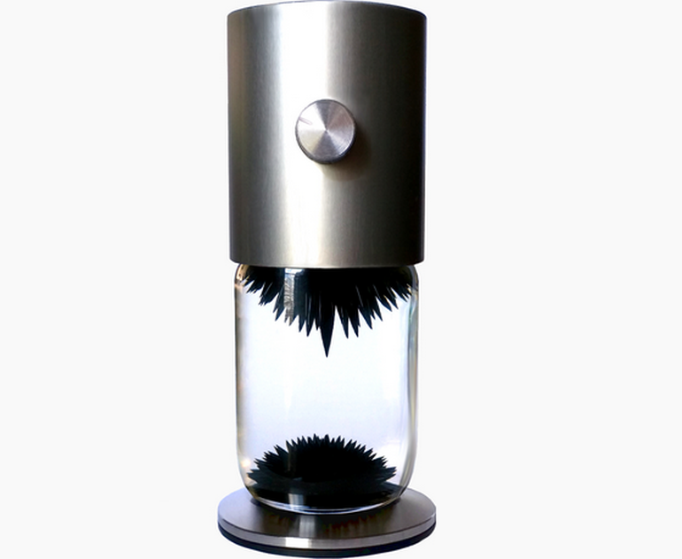 Watch The Ferrofluid Dance Around Inside This Interactive Sculpture-5