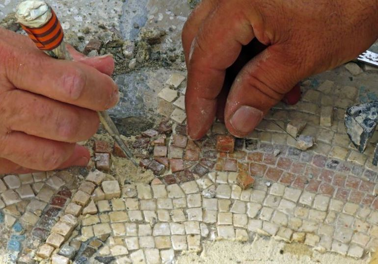 1,500-Year-Old Mosaic Contains Map of Ancient Egyptian City-1