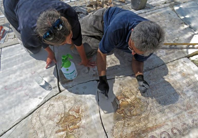 1,500-Year-Old Mosaic Contains Map of Ancient Egyptian City-2