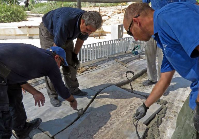 1,500-Year-Old Mosaic Contains Map of Ancient Egyptian City-4