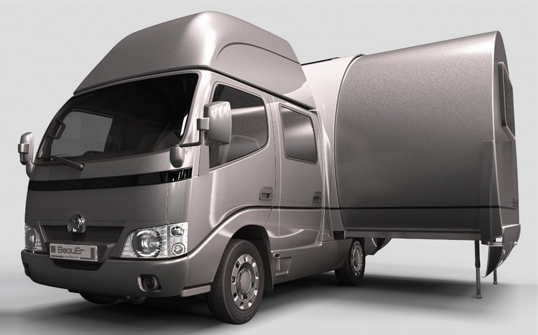 3X An Innovative, Expandable Teardrop Trailer By Beauer-10