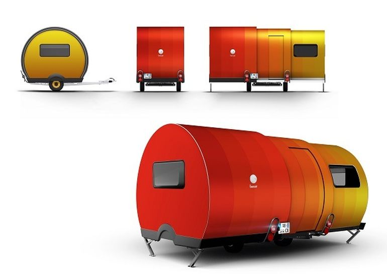 3X An Innovative, Expandable Teardrop Trailer By Beauer-15