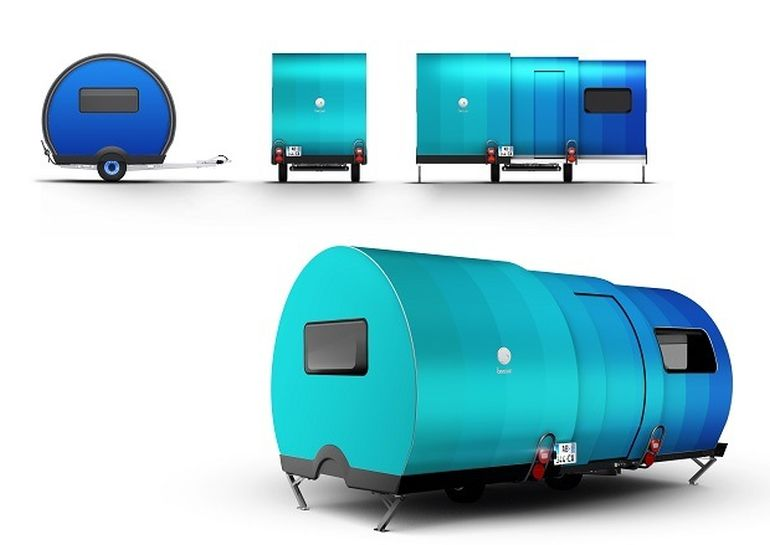 3X An Innovative, Expandable Teardrop Trailer By Beauer-18
