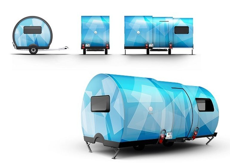 3X An Innovative, Expandable Teardrop Trailer By Beauer-19
