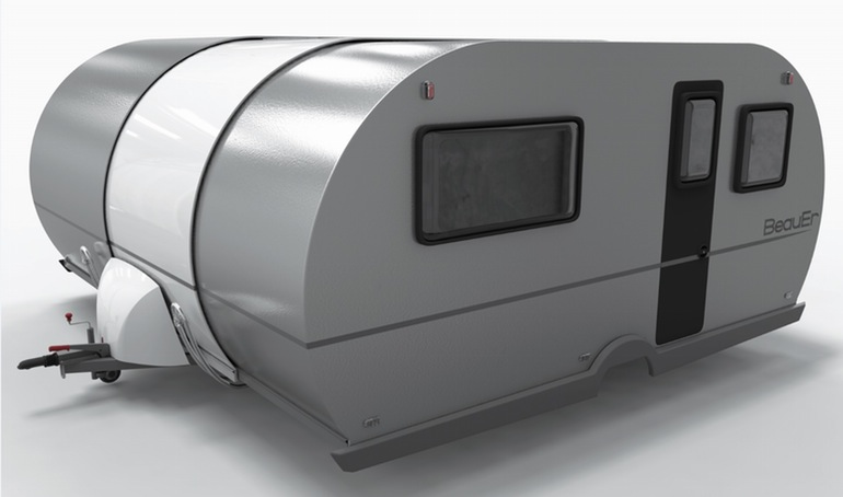 3X An Innovative, Expandable Teardrop Trailer By Beauer-3