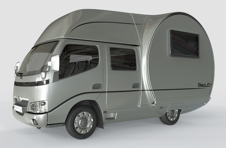 3X An Innovative, Expandable Teardrop Trailer By Beauer-7