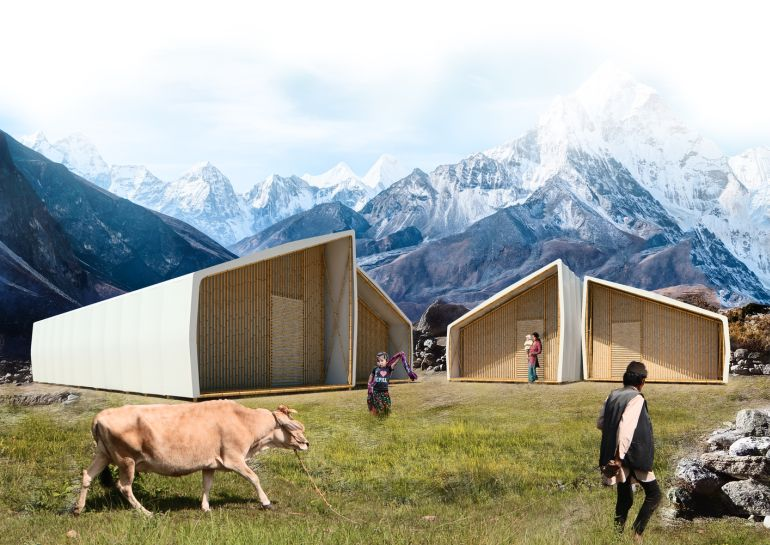 Architects Design Pop-Up Home For Nepal Earthquake Victims-1