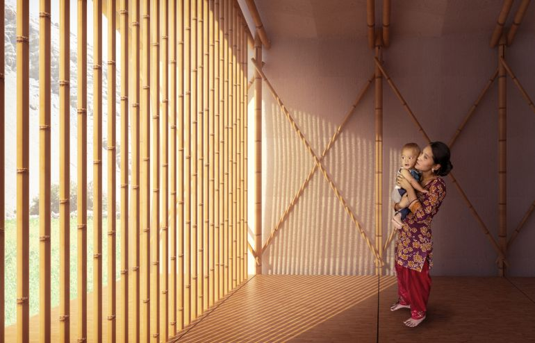 Architects Design Pop-Up Home For Nepal Earthquake Victims-4