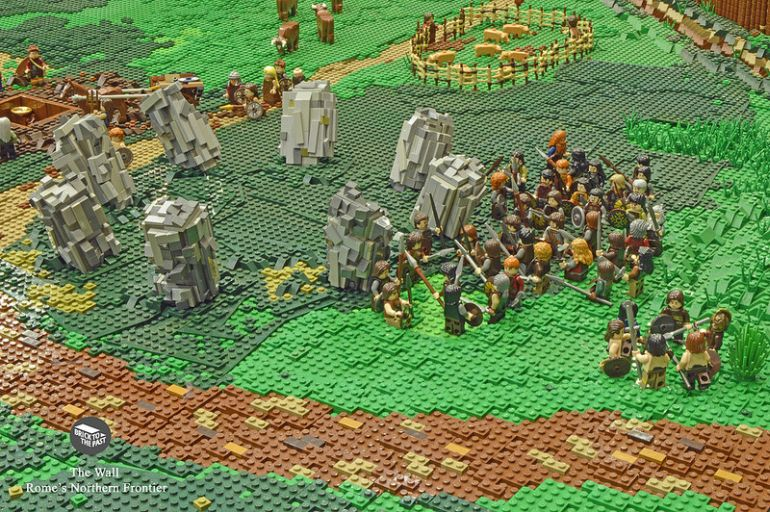 British Enthusiasts Recreate The Roman Empire Using LEGO!-8