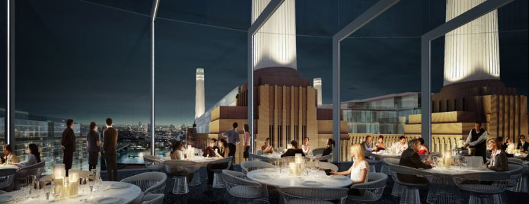 The Skyline will house a opulent sky bar and restaurant