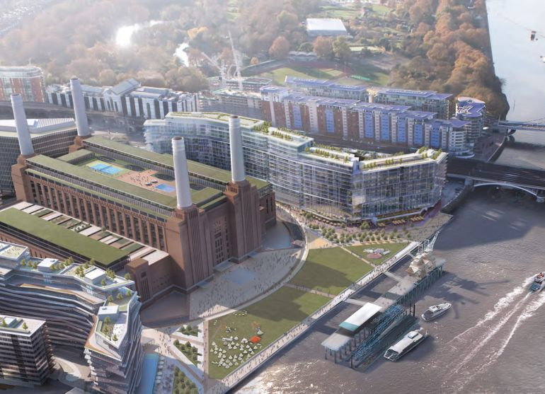 Rooftop Infinity Pool To Grace The Skyline Around Battersea Power Station-3