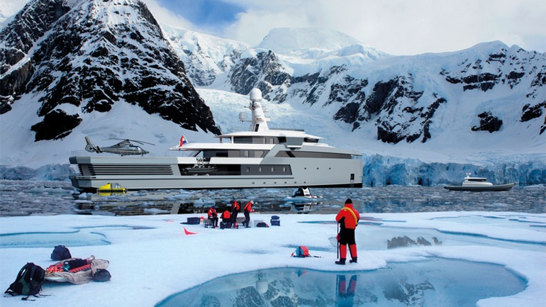 SeaXplorer A $150 Million Yacht That Can Gash Through Icebergs-10