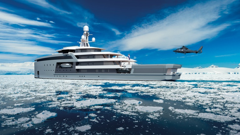 SeaXplorer A $150 Million Yacht That Can Gash Through Icebergs-11
