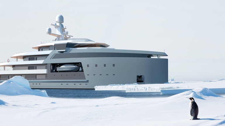 SeaXplorer A $150 Million Yacht That Can Gash Through Icebergs-12