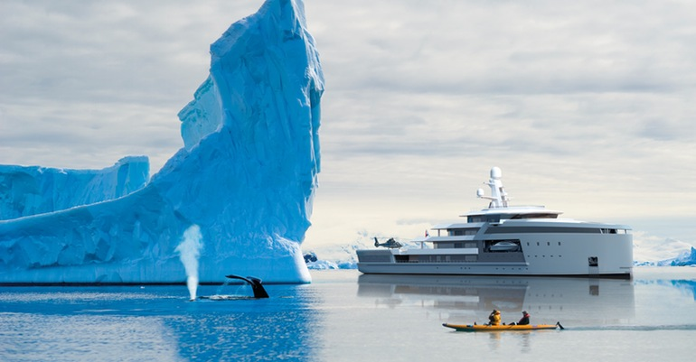 SeaXplorer A $150 Million Yacht That Can Gash Through Icebergs-2