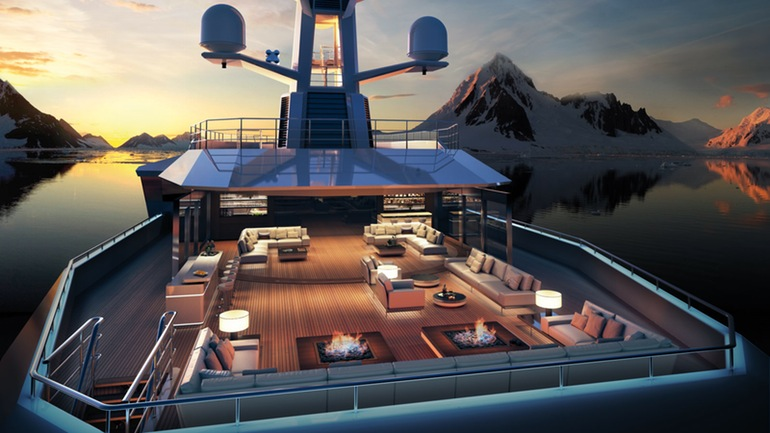 SeaXplorer A $150 Million Yacht That Can Gash Through Icebergs-8