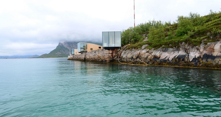 The Stunning Cantilevered Cabins At Manshausen, Norway-2