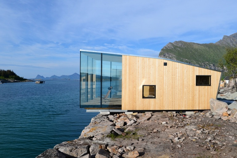 The Stunning Cantilevered Cabins At Manshausen, Norway-3