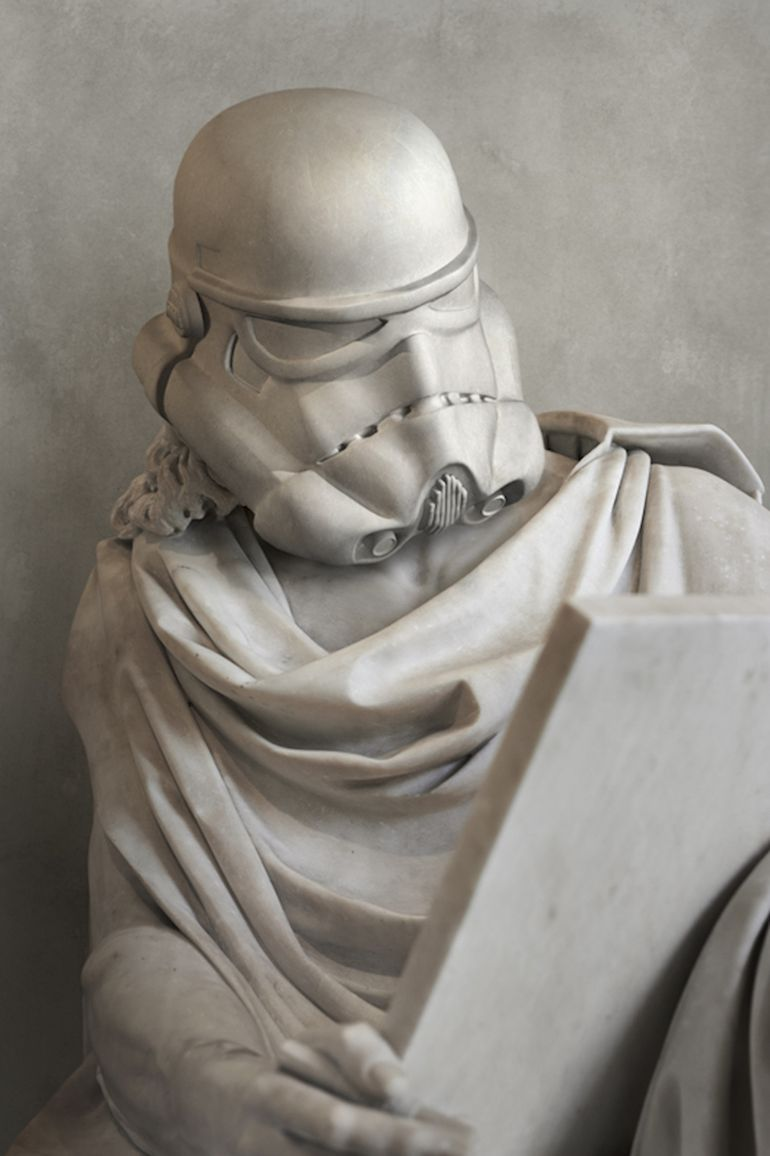 Artist Envisions Star Wars Characters As Ancient Greek Statues-3