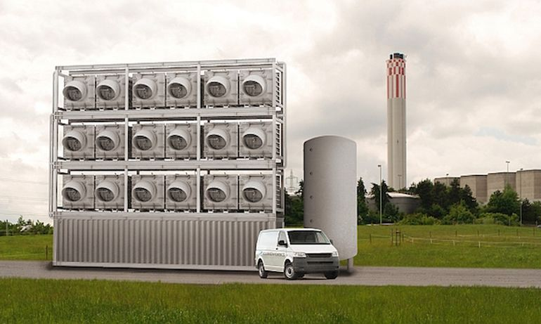 Climeworks To Build World S First Direct Air Carbon