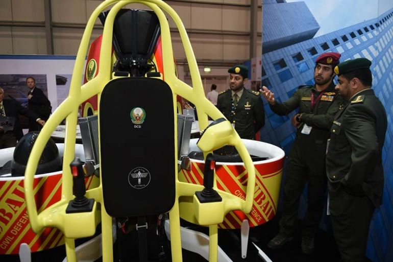 Dubai TO Equip Firefighters With Specially-Designed Jetpacks-1