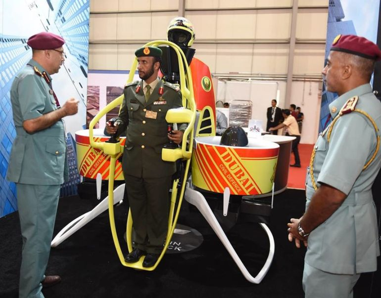 Dubai TO Equip Firefighters With Specially-Designed Jetpacks-5