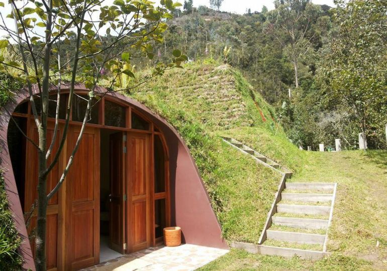 Green magic home a prefabricated version of hobbit home - Cost to build a modular home ...
