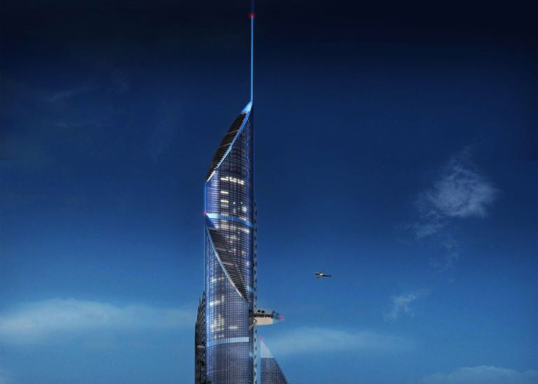 Tallest Tower, Running On Solar Power, To Be Built In Iraq-4
