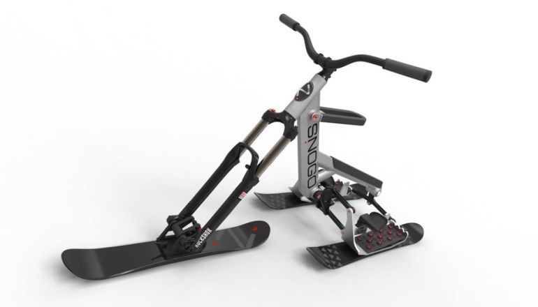 The New SNOGO Bike Combines Skiing And Mountain Biking-1