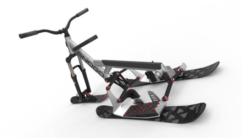 The New SNOGO Bike Combines Skiing And Mountain Biking-2