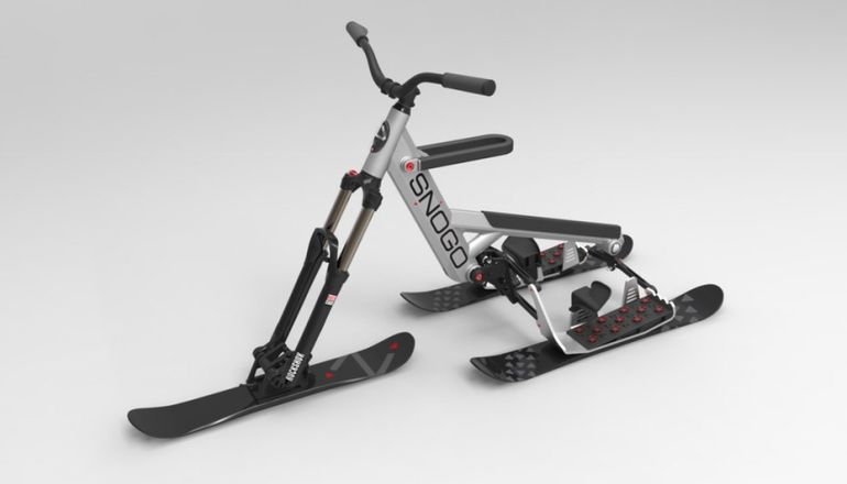 The New SNOGO Bike Combines Skiing And Mountain Biking-3
