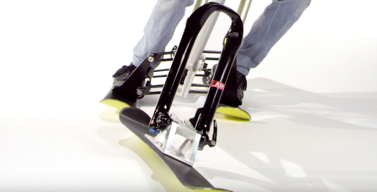The New SNOGO Bike Combines Skiing And Mountain Biking-7