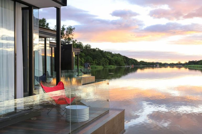 These Floating Cabins Overlook The River Kwai In Thailand-3