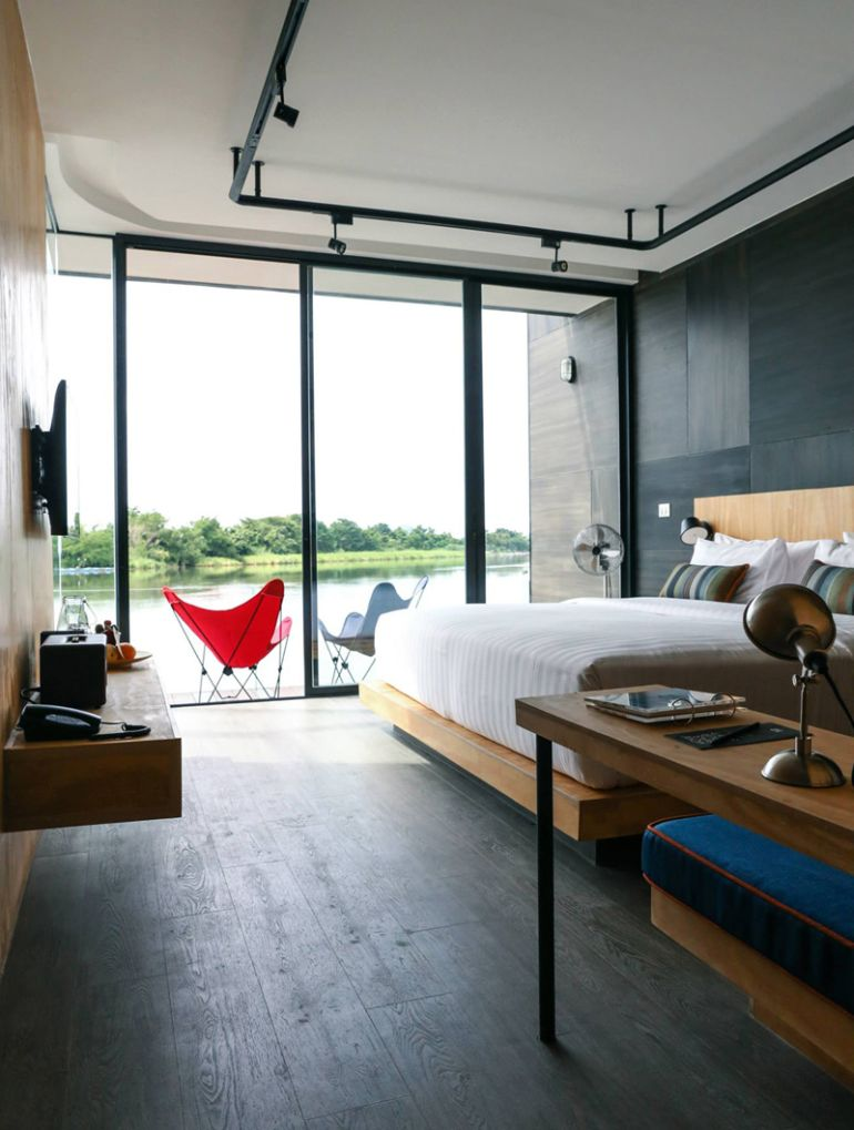 These Floating Cabins Overlook The River Kwai In Thailand-7