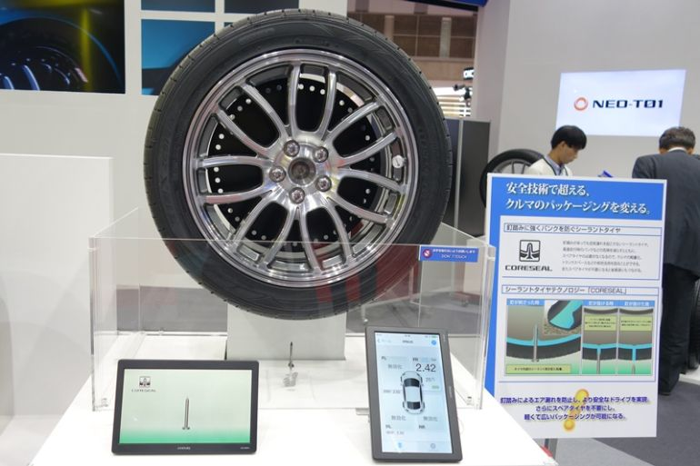 This Innovative Self-Repairing Tire Contains A Layer Of Sealant-1