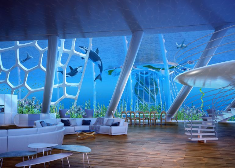 Architect Envisions Future Underwater City Built From 3D-Printed Waste-12