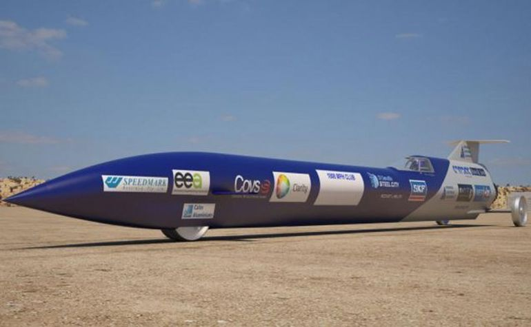 Australia Aims To Set Land Speed Record With This Rocket-Powered Car-1